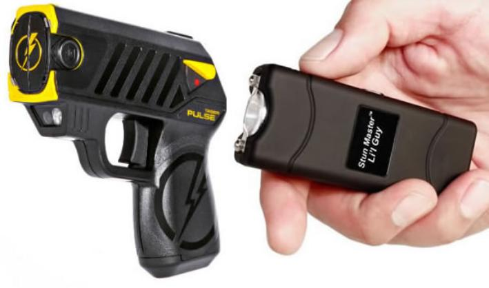 Tactical Tasers – Cover the Distance to Safety