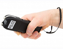 Police Powerful Stun Gun With Snatch Prevention Feature