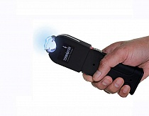 TERMINATOR STUN GUN Max Power POLICE FLASHLIGHT STUN GUN With Taser Holster