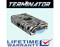 TERMINATOR STUN GUN TZE800- 550 MV MINI RECHARGEABLE POLICE FLASHLIGHT STUN GUN