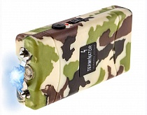 Terminator SGTCA800 - 550 MV Mini Rechargeable Reliable Stun Gun with LED Flashlight ( Camo)