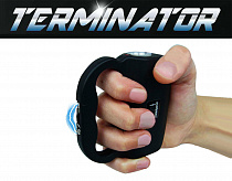 Terminator Stun Gun SGT 510-88 BV Police Strength, Blinding Light (BLACK)