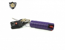 Lab Certified Streetwise 18 Pepper Spray, 1/2 oz. Hard Case PURPLE