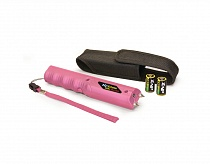 ZAP Stick Stun Gun with Flashlight 800K Pink