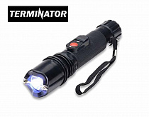 Terminator SGT105B - Maximum Power Flashlight Stun Gun Black