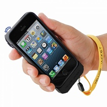 Yellow Jacket iPhone 5/5S Case: Stun Gun & Power Bank