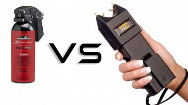 The Talk – Stun Gun VS Pepper Spray
